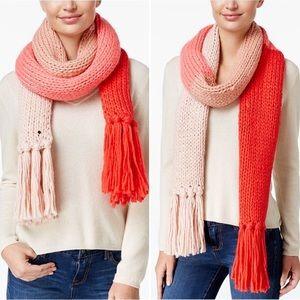 Kate Spade Knit Colorblock Scarf ♠️